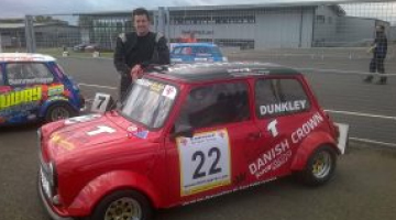 Sharp-aX sponsors James Dunkley for the 2017 MG Midget Challenge Club season