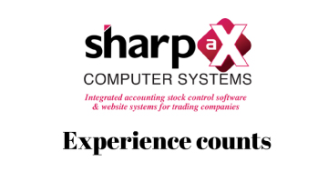 Sharp-aX software – experience counts