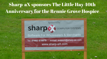 Sharp-aX sponsors The Little Hay 40th Anniversary for the Rennie Grove Hospice