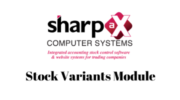 The Sharp-aX Stock Variants Module