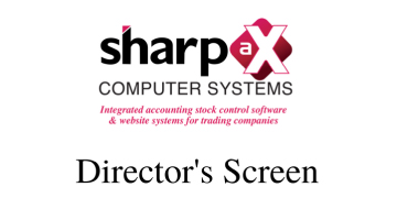 New Sharp-aX video: The Director's Screen