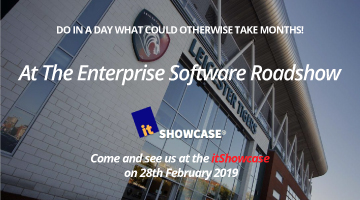 Come and see us at the itShowcase  on 28th February 2019