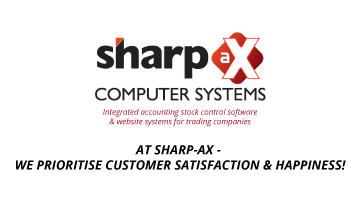At Sharp-aX – We prioritise customer satisfaction & happiness!