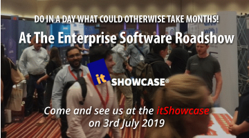 Come and see us at the itShowcase on 3rd July 2019